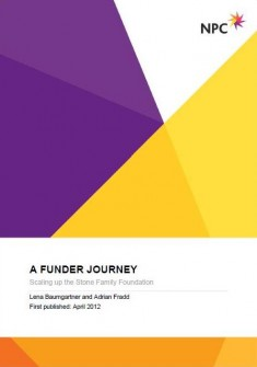 A funder journey